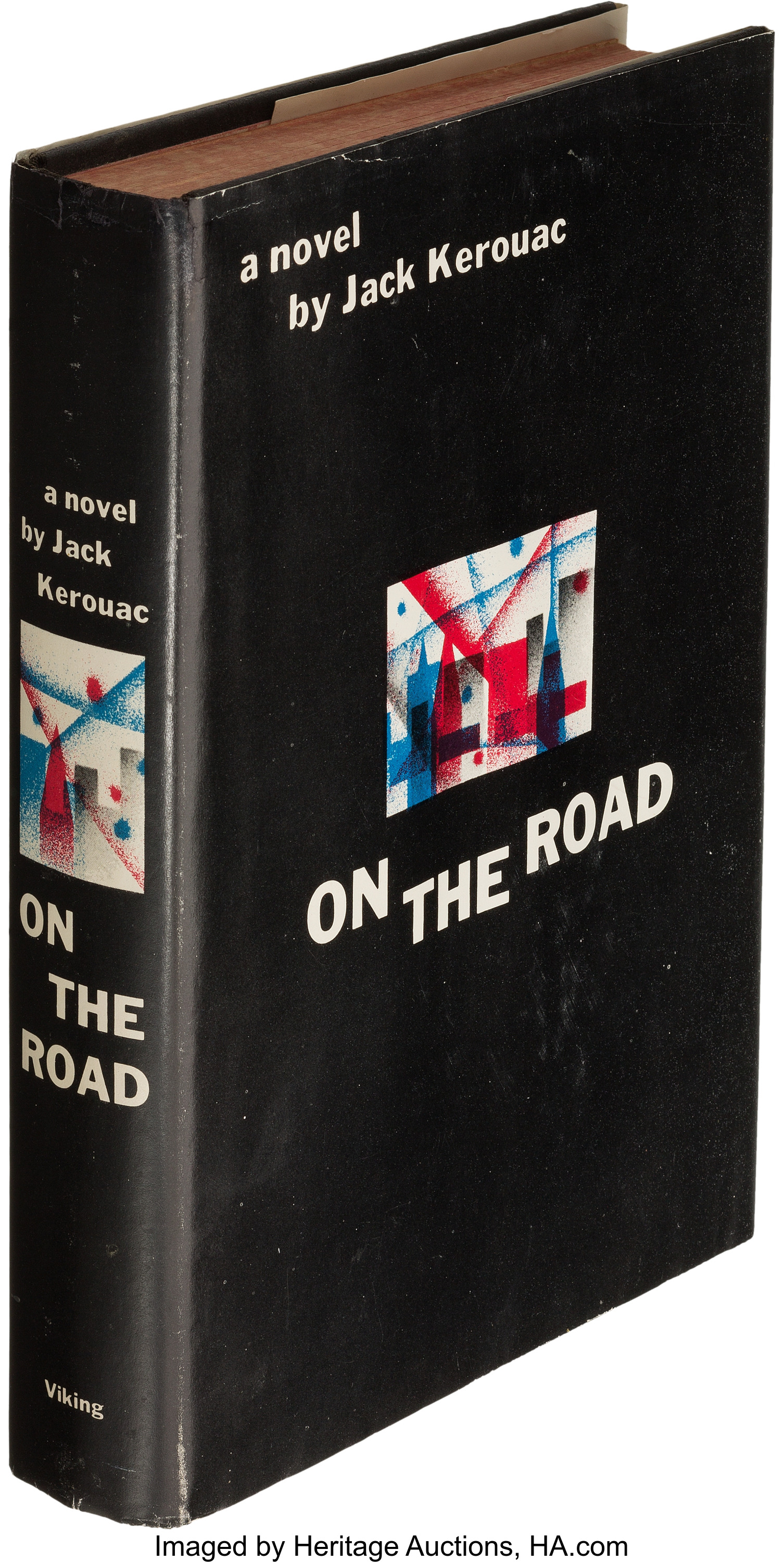 Jack Kerouac. On the Road. New York The Viking Press, 1957 credit Herita...