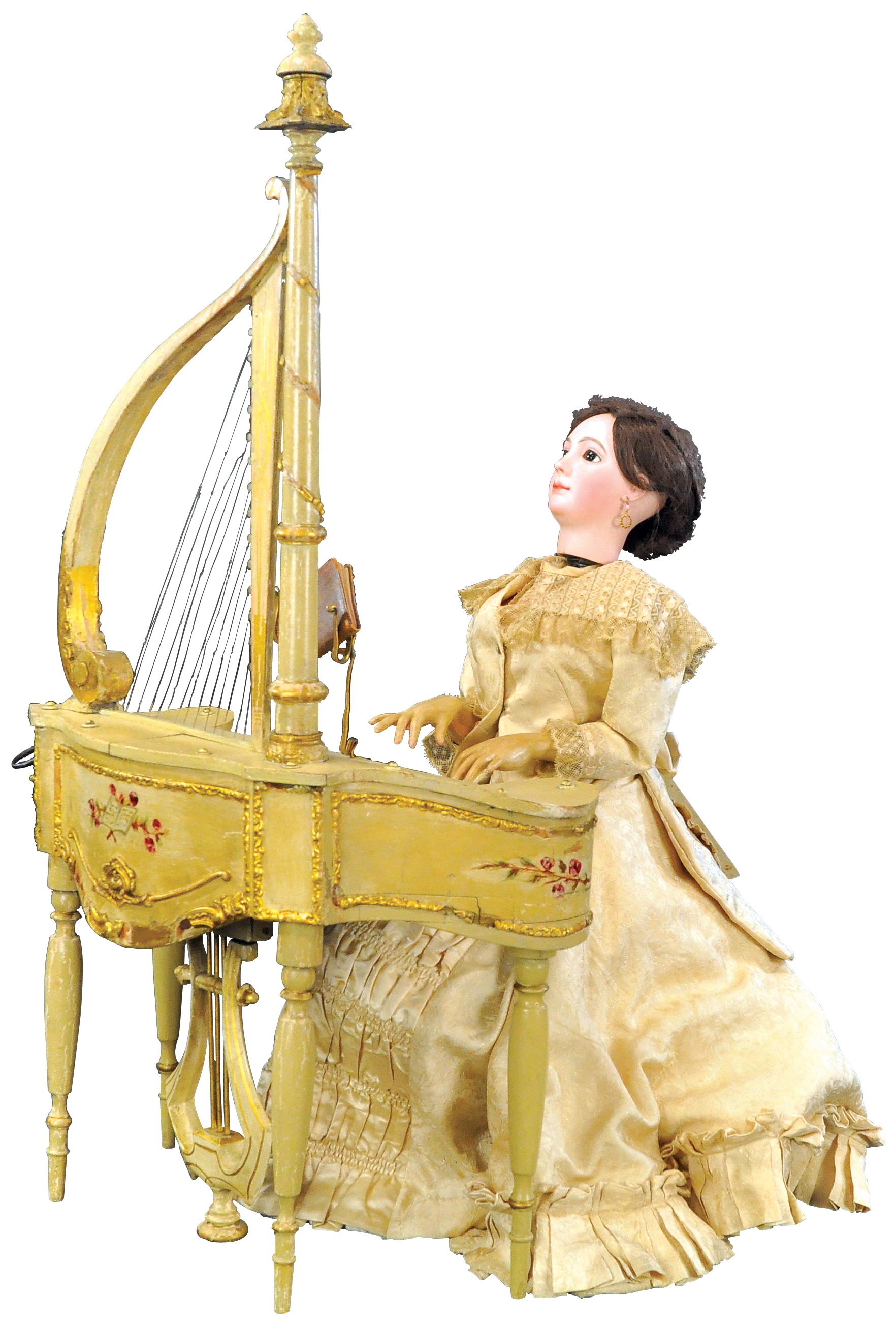 A piano-playing automaton, created by Gustave Vichy between 1890 and 1910.
