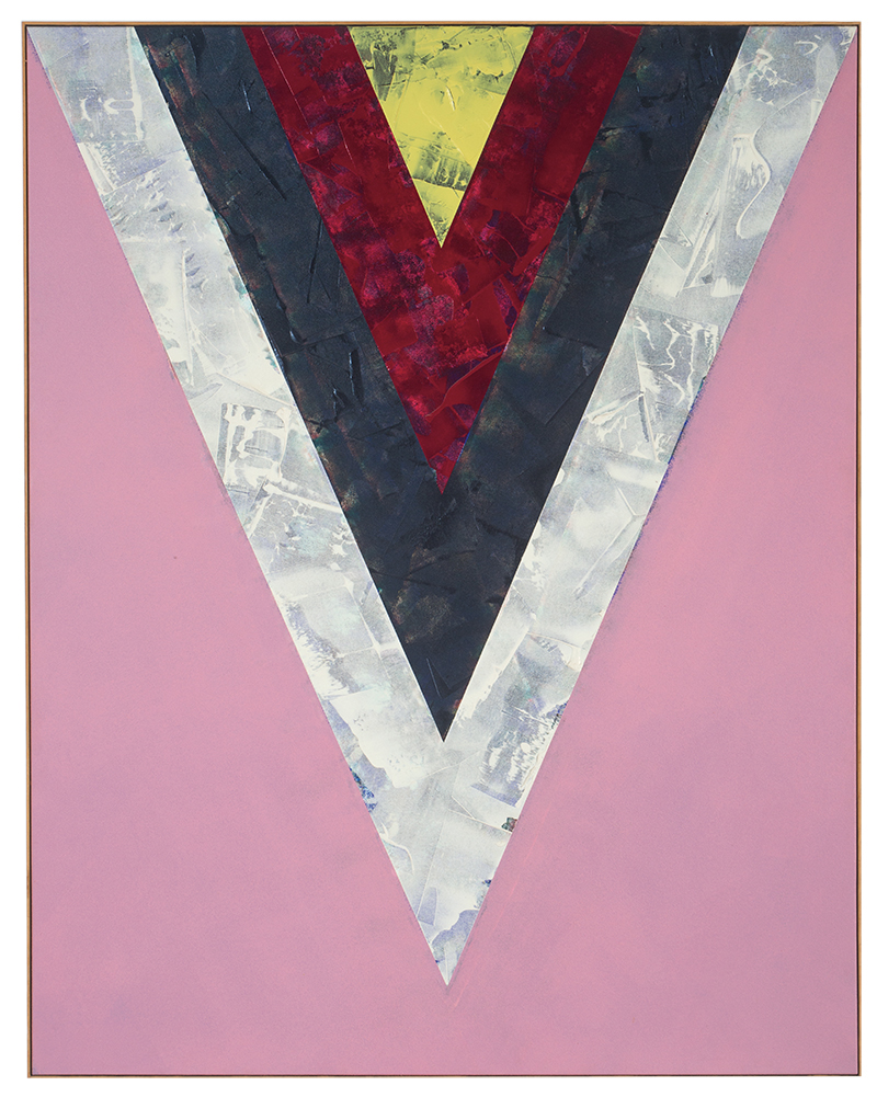 Kenneth Noland's Songs: Yesterdays was the sixth most expensive lot featured on The Hot Bid in 2019.