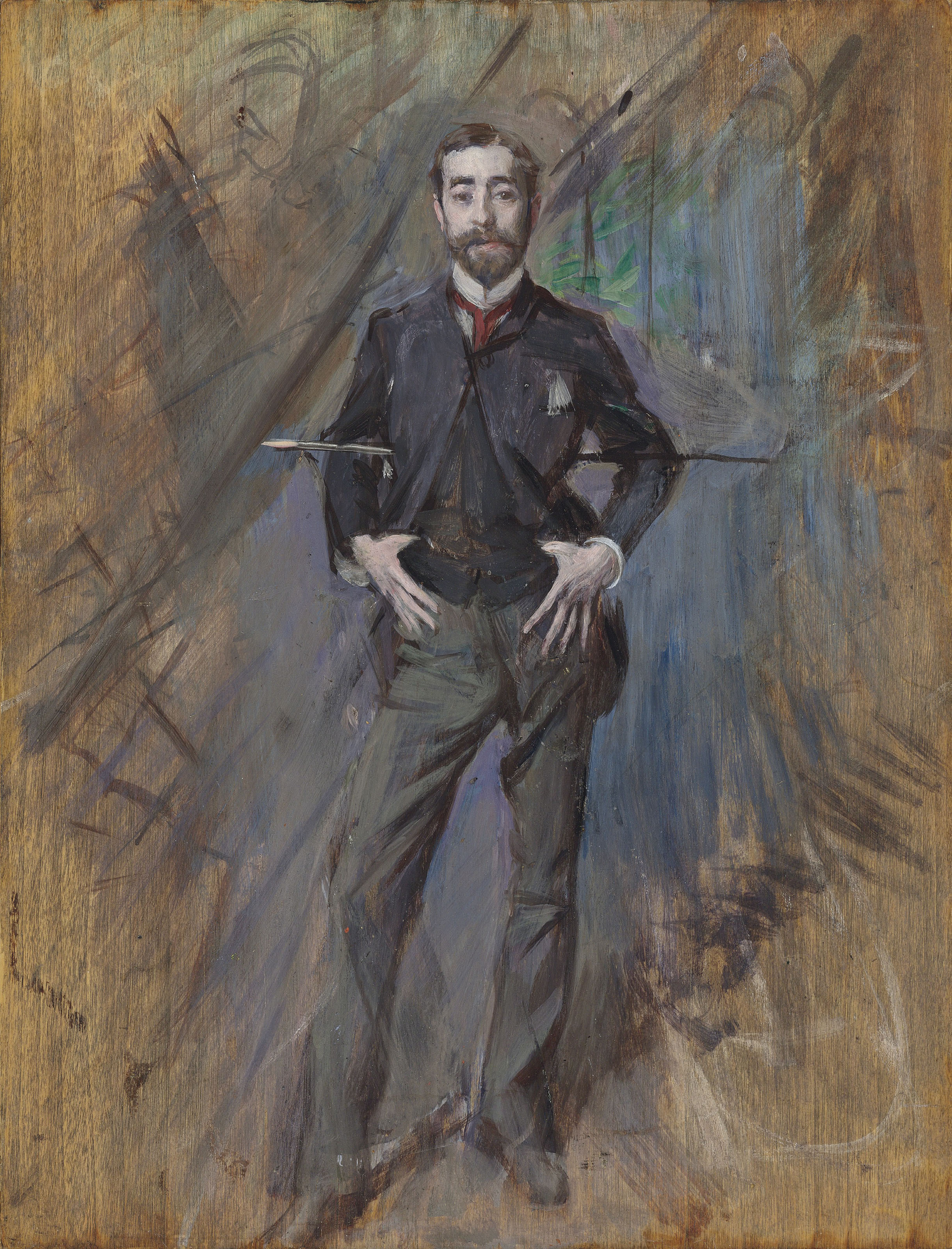 A charming portrait of John Singer Sargent, rendered by Boldini, is the eighth most expensive lot showcased on The Hot Bid in 2019.