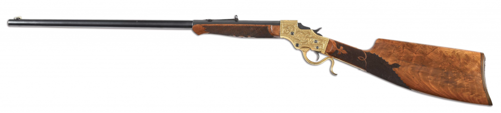 The Annie Oakley gun, shown in full.