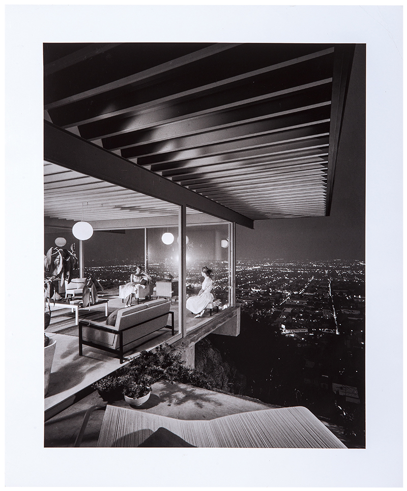 Case Study House #22, an iconic black-and-white Julius Shulman photograph of a Modernist home in Los Angeles, could sell for $3,000.
