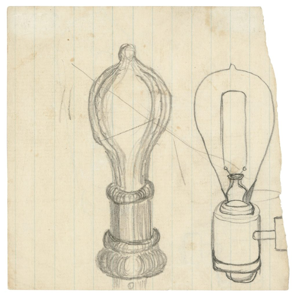The world has seen many great inventors. Only one, Thomas Edison, saw his invention become the symbol for a good idea.