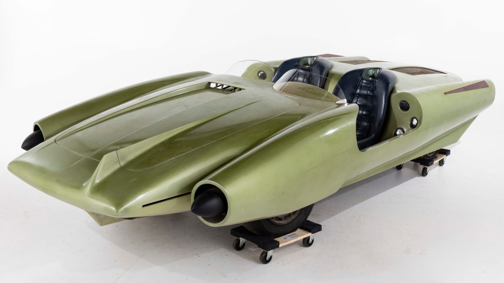 La Shabbla, a unique concept car created by John Bucci, a little-known Italian-American designer. It could sell for $75,000.