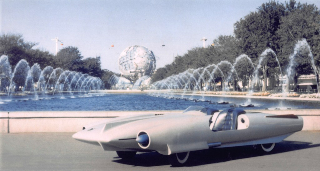 Ever the promoter, John Bucci politely pressed the powers that be at the 1964 World's Fair for permission to drive his futuristic concept car onto the fairgrounds for a killer photo shoot.