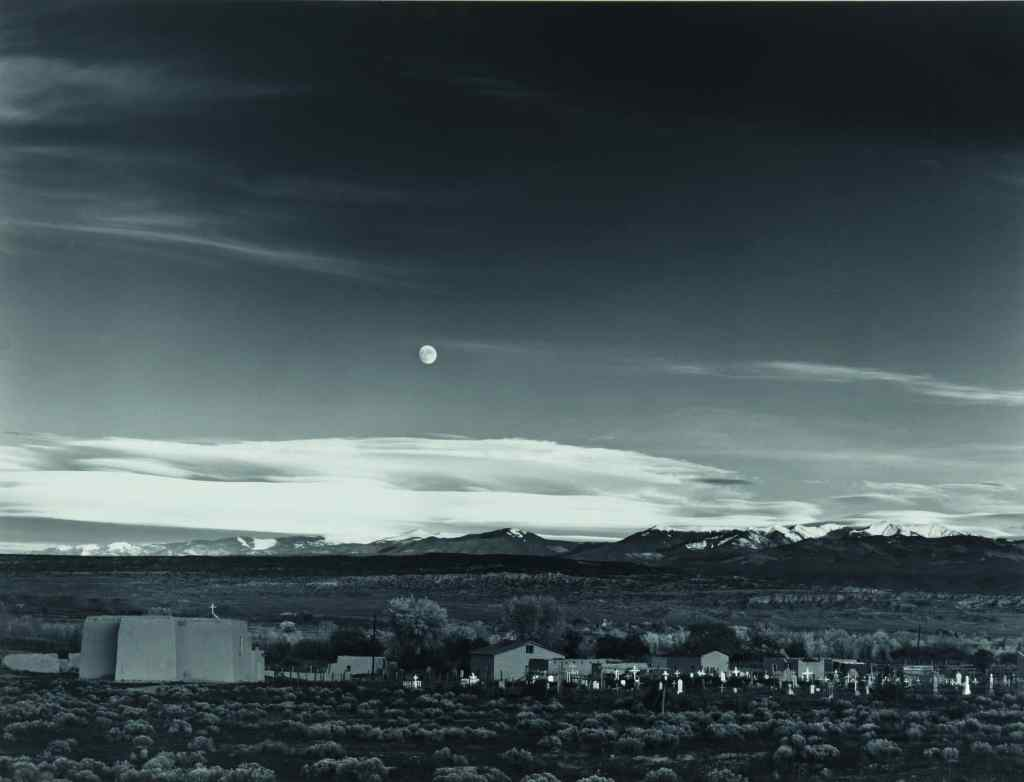 An exceptionally early print of Moonrise, Hernandez, New Mexico, arguably Ansel Adams's greatest photograph, could sell for $1 million at Sotheby's.
